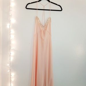 Free people satin dress
